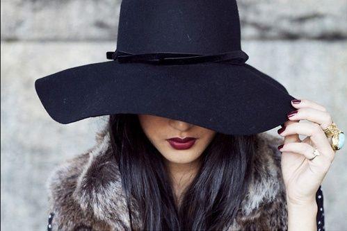 sombreros basicos en la moda