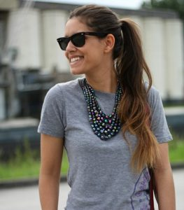Como llevar maxi collares